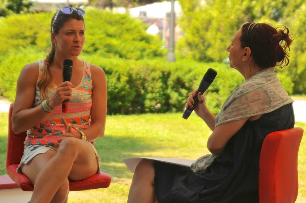 Alexandra Dulgheru la BRD Tennis Insider, pe Treizecizero.ro