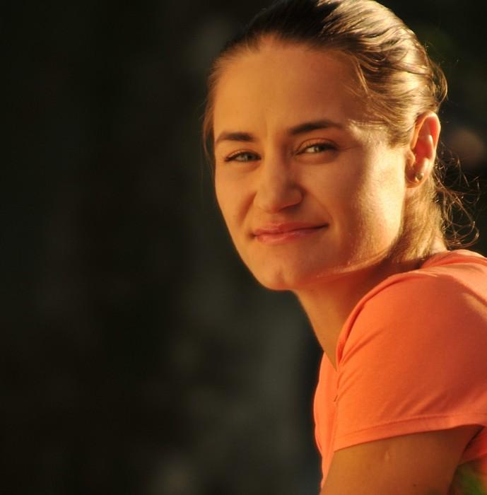Monica Niculescu la BRD Tennis Insider, pe Treizecizero.ro. Foto: Farid Abasi
