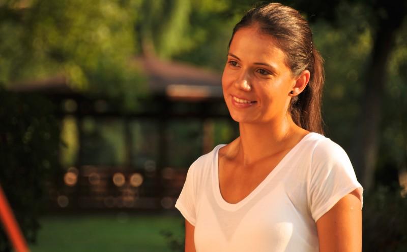 Raluca Olaru la BRD Tennis Insider, pe Treizecizero.ro. Foto: Farid Abasi