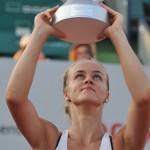 Anna Karolina Schmiedlova, la BRD Bucharest Open. Foto: Farid Abasi