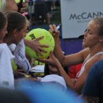 Anna Karolina Schmiedlova la BRD Bucharest Open. Foto: Farid Abasi/Treizecizero.ro