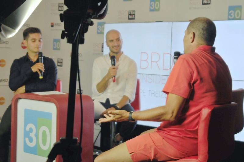 Adrian Marcu, la BRD Tennis Insider, pe Treizecizero.ro. Foto: Farid Abasi/Treizecizero.ro