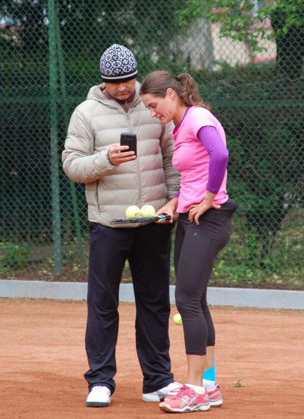 Călin Ciorbagiu și Monica Niculescu