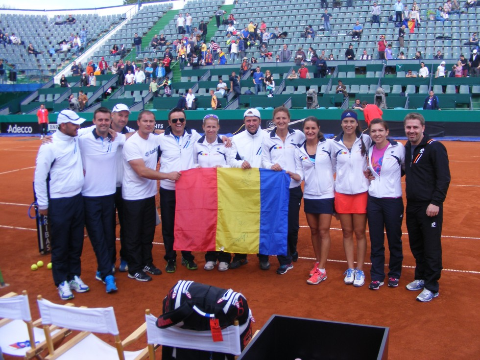 Echipa Romaniei_Fed Cup