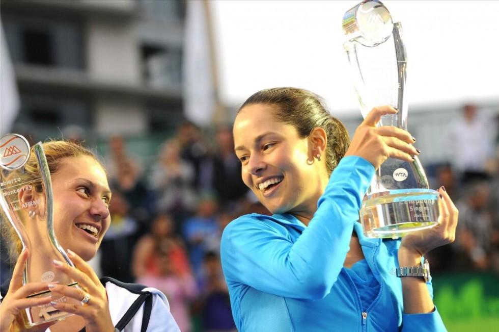 Ana Ivanovic și Jovana Jaksic