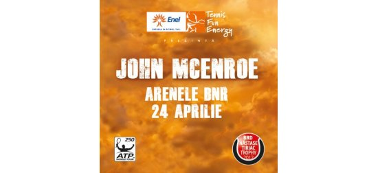 John McEnroe vine la Bucureşti pentru un meci demonstrativ!