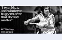 """Vintage Ilie Năstase, cel cu care a început istoria clasamentului ATP: """"Am fost primul, e tot ce contează"""""""