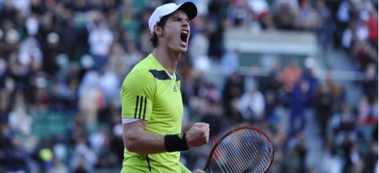 Rafa își ia revanșa cu Ferrer, Andy rezistă într-un final isteric cu Monfils. Semifinală Nadal - Murray la RG