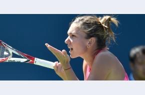 Încordată la debut, dar și-a păstrat cumpătul: Simona Halep trece de primul tur la US Open