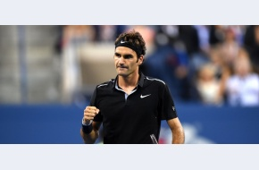 Roger Federer revine de la 0-2 cu Monfils, salvează două mingi de meci înainte de a se califica în semifinalele US Open