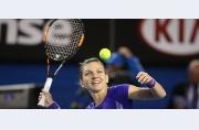 Simona Halep câștigă convingător cu Wickmayer, sferturi de finală pentru al doilea an la rând