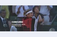 Concurs: 2 Parale și Treizecizero. Avem două prosoape oficiale ale turneului feminin pentru voi