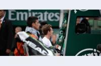Suspendați peste noapte: Nole și Andy au fost opriți de ploaie și de întuneric în plin tenis spectacol