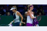 Garbine și Masha, trei victorii din trei. Semifinalele Turneului Campioanelor sunt Sharapova - Kvitova și Muguruza - Radwanska
