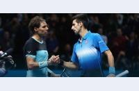 """Djokovic îl învinge iar pe Nadal, egalează palmaresul direct. Iar privirea lui Nadal pare să spună: """"da, e corect aşa"""""""