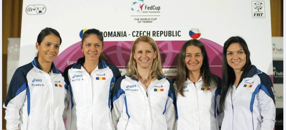 Față în față: meciul de Fed Cup dintre România și Cehia, analizat cu două pledoarii diferite