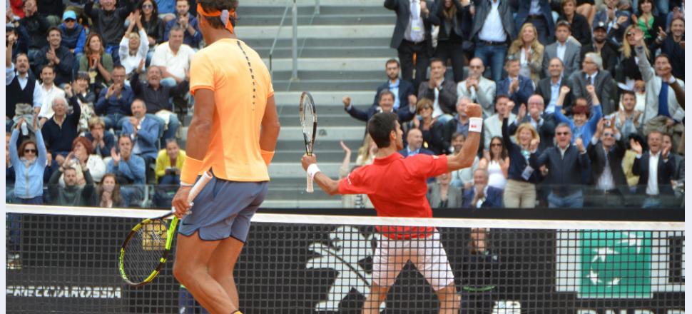 Djokovic nu poate fi mișcat: Nole învinge un Rafa foarte bun în sferturile de la Roma, iar Roland Garros n-ar putea veni mai repede