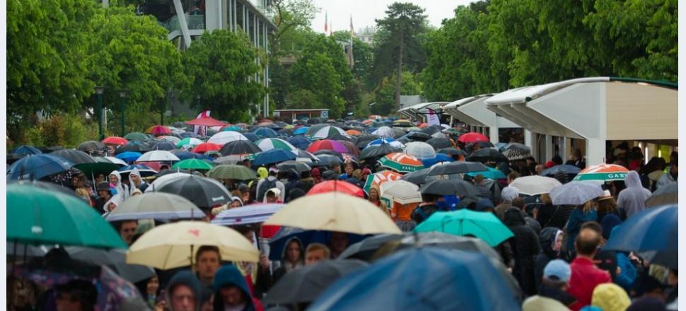 Roland Garros, ziua (ploaia) întâi: Să mai încercăm o dată startul, Paris