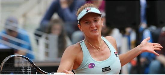 """Irina Begu revine după pierderea primului set, își confirmă forma bună: """"După ce m-am liniștit, lucrurile au stat altfel!"""""""