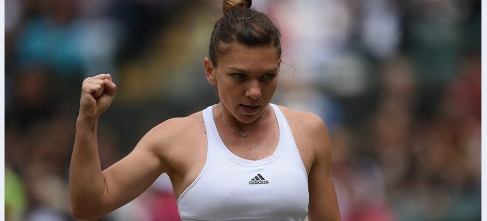 Simona Halep recuperează de la set și break, întoarce un meci greu cu Madison Keys și se califică în sferturi la Wimbledon