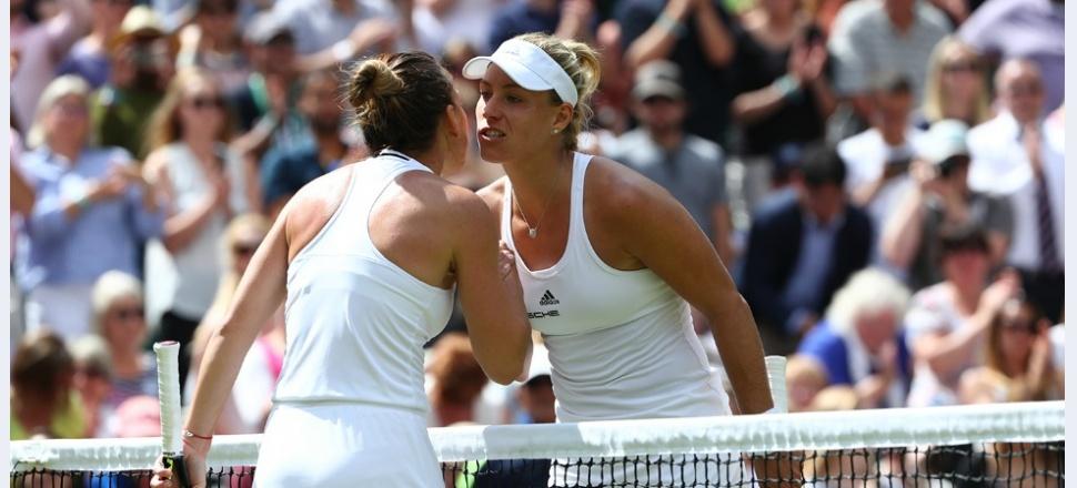 Simona vs Angelique Kerber: ce a făcut diferența în sfertul de finală de la Wimbledon