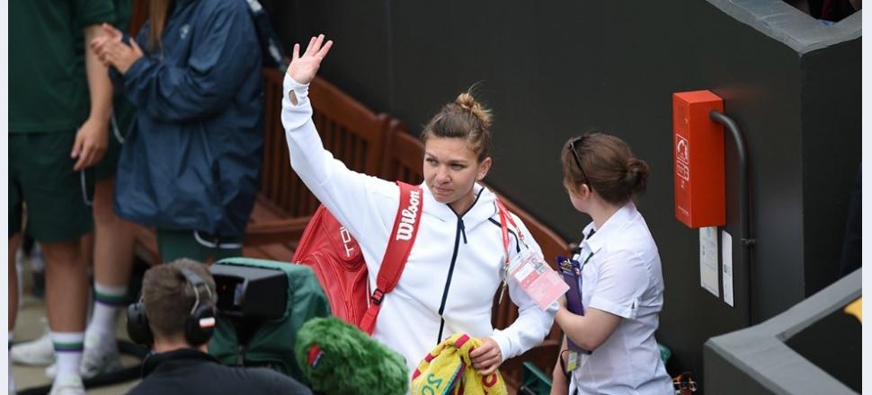 """Simona Halep, la plecarea de la Wimbledon: """"M-am schimbat mult, felul în care privesc lucrurile s-a schimbat foarte mult, iar asta îmi dă liniște"""""""