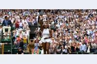 Acel moment istoric: Serena câștigă Wimbledon a șaptea oară, egalează recordul de 22 de Slamuri deținut de Steffi Graf