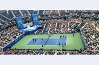Primele impresii din complexul renovat de la US Open: jucătorii trag tare la antrenamente, noul acoperiș de pe Ashe funcționează impecabil. It's on!