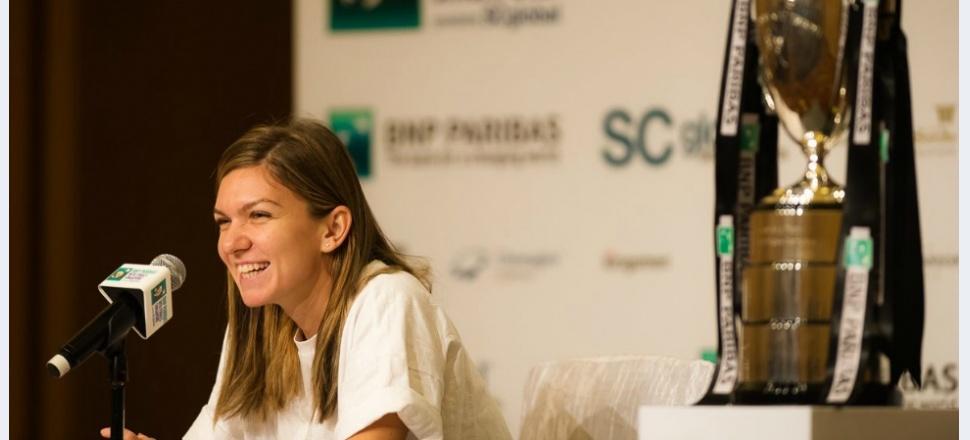 """Simona Halep, din Singapore, înainte de startul Turneului Campioanelor: """"Simt că anul acesta am învățat cel mai mult tenis"""""""