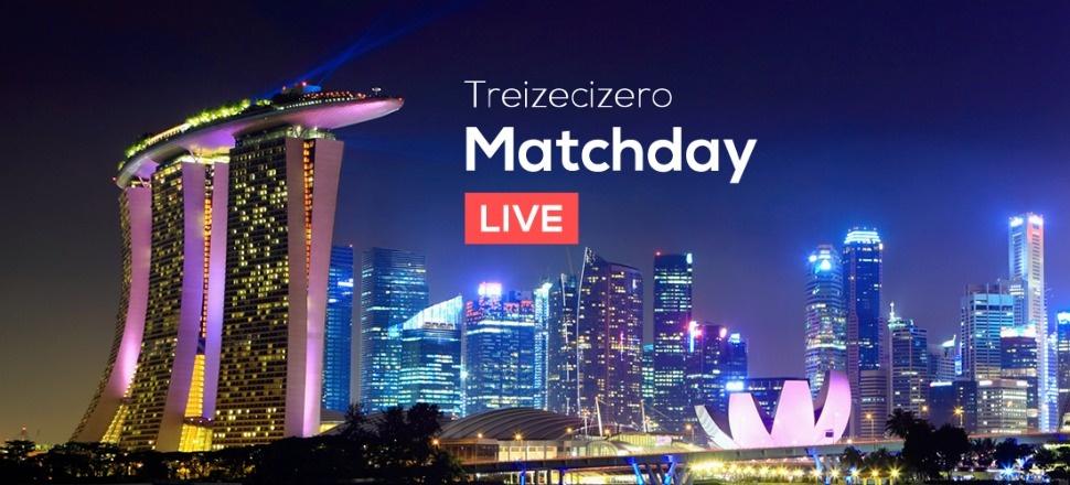 Treizecizero Matchday: comentăm în direct alături de voi meciurile din Singapore!