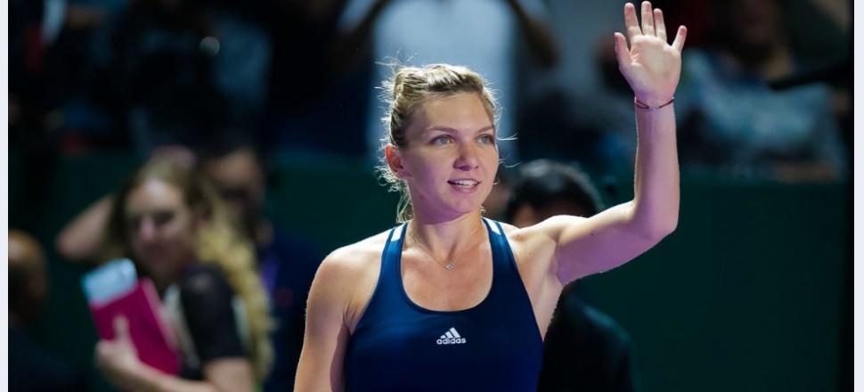 Simona Halep începe excelent Turneul Campioanelor, câștigă clar cu Madison Keys