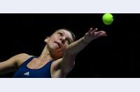 """Simona: """"Am jucat tenisul care trebuia contra lui Keys. Am învățat să las momentul să treacă și să nu aduc niciun gram de negativism"""""""