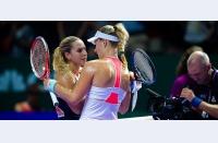 WTA Finals Singapore: Kerber o învinge pe Cibulkova după un meci fantastic, greul abia acum începe pentru Simona