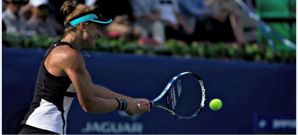Învinsă de Kristina Pliskova, Irina Begu ratează rematchul cu Kerber, dar face un exercițiu de răbdare pentru dublu și mixtul cu Horia